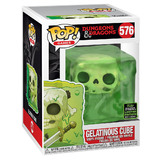 Funko POP! Games Dungeons & Dragons #576 Gelatinous Cube - 2020 Emerald City Comic Con (ECCC) Exclusive - New, Mint Condition