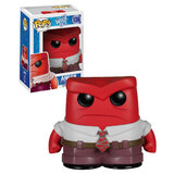 Funko POP! Disney Inside Out #136 Anger - New, Mint Condition, Vaulted