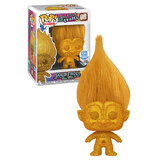 Funko POP! Good Luck Trolls #08 Gold Troll (Diamond Collection Glitter) - Funko Shop Limited Exclusive - New, Mint Condition