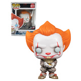 Funko POP! Movies IT #877 Pennywise (With Glow Bug) - Limited Gamestop Exclusive - New, Mint Condition