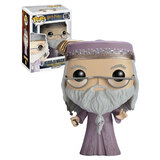 Funko POP! Harry Potter #15 Dumbledore With Wand - New Mint Condition