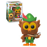 Funko POP! Ad Icons #86 Woodsy Owl (Flocked) - Limited Funko Shop Exclusive - New, Mint Condition