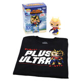 Funko Pop! Tees #608 My Hero Academia POP! Vinyl & T-Shirt Box Set - All Might (Glow-In-The-Dark) Import - New, Mint [Size: Medium]