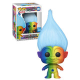 Funko POP! Trolls #06 Blue Rainbow Troll - Funko 2020 WonderCon Limited Edition - New, Mint Condition