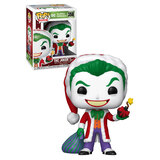 Funko POP! DC Super Heroes Holiday #358 Joker As Santa - New, Mint Condition