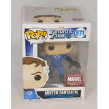 Funko POP! Marvel X-Men #571 Mister Fantastic - Collector Corps Exclusive - New, Slight Box Damage