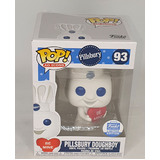 Funko POP! Ad Icons Pillsbury #93 Pillsbury Doughboy (With Heart) - Limited Funko Shop Exclusive - New, Box Damaged