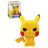 Funko POP! Pokemon #598 Pikachu Grumpy (Flocked) - Funko 2020 New York Comic Con (NYCC) Limited Edition - New, Mint Condition