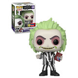 Funko POP! Beetlejuice #1010 Beetlejuice (With Book) Glow - Funko 2020 New York Comic Con (NYCC) Limited Edition - New, Mint Condition