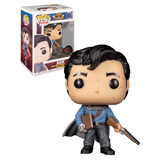 Funko POP! Movies Army Of Darkness #1024 Ash With Necromicon - New, Mint Condition