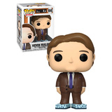 Funko POP! Television The Office #1048 Kevin Malone (With Tissue Boxes) - New, Mint Condition
