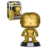 Funko POP! Star Wars #93 Luke Skywalker (Gold Metallic) - New, Mint Condition