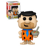 Funko POP! Ad Icons/The Flintstones #119 Fred Flintstone With Cereal - USA Exclusive - New, Mint Condition