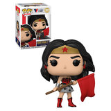 Funko POP! Wonder Woman #392 Wonder Woman - Red Son 80th ANNIV POP!  - New, Mint Condition
