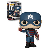 Funko POP! Marvel #811 The Falcon And The Winter Soldier - John F Walker POP!  - New, Mint Condition