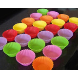 24 x  Silicone Mini Muffin Cups
