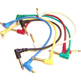 3 x 30cm Guitar Pedal Leads / Cables