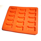 Doggy Bone Treats Baking Pan or Ice Cube Tray - Silicone Bakeware
