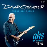 GHS David Gilmour Signature Electric Guitar Strings GB-DGF Blue Set 10-48