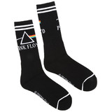 Bioworld Pink Floyd Dark Side Of The Moon Crew Socks - One Size Fits Most - New