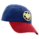 Marvel Captain Marvel - Premium Adjustable Cap Hat - New With Tags