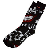 Bioworld DC Suicide Squad 'The Joker' Crew Socks - One Size Fits Most - New