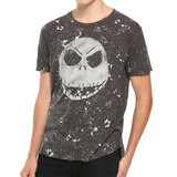 The Nightmare Before Christmas Jack Head Splatter T-Shirt​ - Hot Topic Exclusive - New With Tag