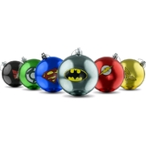 DC Comics Christmas Bauble Ornaments (Set Of 6) - New, Mint Condition