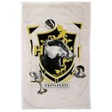 Harry Potter - Hufflepuff Tea Towel - New, With Tags
