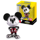"Jada Toys Metals Die Cast #30026 4"" Disney Mickey Mouse (Chrome) - New, Mint Condition"