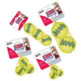 KONG Airdog Squeaker Balls For Dogs and Puppies in Four Sizes