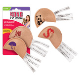 Kong Fortune Cookie Cat Kitten Toy - Pack of Two