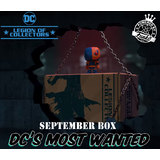 Funko Legion Of Collectors Subscription Box - September 2017 DC's Most Wanted - New