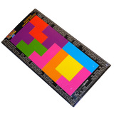 Tetris Flexible Magnet Sheets - Collectors Magnets - Loot Crate Exclusive - New, Mint Condition
