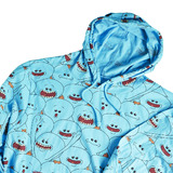 """Rick And Morty"" Exclusive Mr Meeseeks Hoodie Mens Size 3XL NEW"