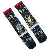 Marvel 'Thor And Loki' Athletic Crew Socks - Loot Crate Exclusive - New With Labels