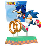 Sonic The Hedgehog And Rings Collectible Figure - Loot Crate Exclusive - New, Mint Condition