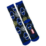 Marvel X-Men 'Beast' Crew Socks - Loot Crate Exclusive - New - Mens Size 6-12