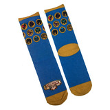 Bioshock Infinite Crew Socks - Loot Crate Exclusive - New - Mens Size 8-12