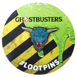 Ghostbusters Zuul The Gatekeeper Enamel Pin/Brooch By Loot Crate - Licensed - New, Mint Condition
