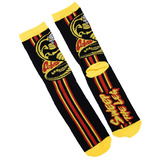 The Karate Kid Cobra Kai 'Sweep The Leg' Crew Socks - Loot Crate Exclusive - New - Mens Size 6-12