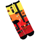 Dig Dug Crew Socks - Loot Crate Exclusive - New - Mens Size 6-12