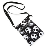 Disney The Nightmare Before Christmas Jack Skellington Passport Crossbody Bag by Loungefly - New, Mint Condition