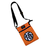 Dragon Ball Z Goku Passport Crossbody Bag by Loungefly - New, Mint Condition