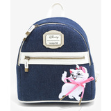 Disney The Aristocats Marie Denim Mini Backpack by Loungefly - New, Mint Condition