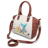 Disney Pixar Characters Satchel Bag by Loungefly - New, With Tags