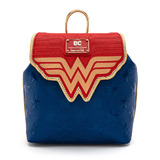 DC Comics Wonder Woman Classic Logo Mini Backpack by Loungefly - New, With Tags