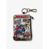 Marvel The  Avengers Comic Coin Purse by Loungefly - New, With Tags