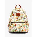 Disney Up Dug & Kevin Floral Mini Backpack by Loungefly - New, With Tags