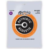 Martin Authentic Acoustic Flexible Core Phosphor Bronze Guitar Strings Silk and Phosphor MA130FX 11-47